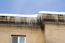 Free Icicles Royalty Free Stock Photos - 34404988