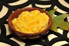 Pumpkin Porridge Stock Photo