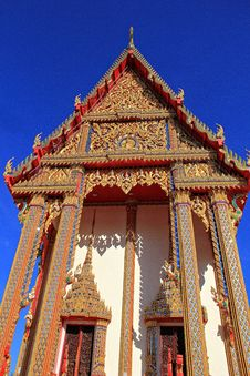 Free Thailand Temple Royalty Free Stock Image - 34407576