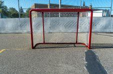 Free Hockey Goal Royalty Free Stock Image - 34409486