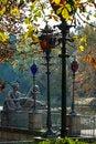 Free Stylish Lanterns And Sculptures In Lazienki Krolewskie Park, Warsaw Stock Image - 34417801