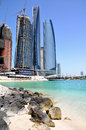 Free Skyscrapers In Abu Dhabi Royalty Free Stock Photo - 34419415