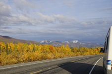 Free Fall Motor Home Travel Stock Photos - 34410493