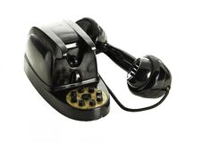 Free Old Black Retro Telephone Royalty Free Stock Photo - 34411245