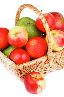Free Autumn Apples Royalty Free Stock Photo - 34411925