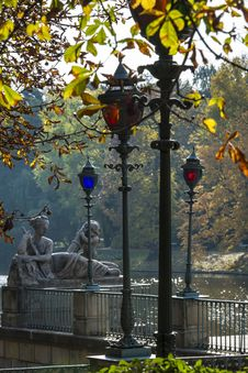 Free Stylish Lanterns And Sculptures In Lazienki Krolewskie Park, Warsaw Stock Image - 34417801