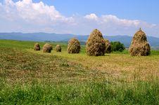 Free Travel To Romania: Moldavian Haystack, Activities Stock Image - 34421221