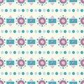 Free Seamless Abstract Geometric Pattern Stock Photography - 34461542