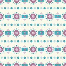 Free Seamless Abstract Geometric Pattern Stock Photography - 34461542