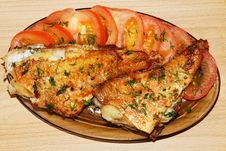 Sea ​​bass With Tomatoes And Dill