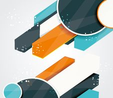 Free Vector Abstract  Background Stock Image - 34463651