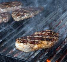 Free Beef Steak Cooking Stock Image - 34463841
