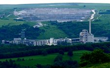 Free Cement Works. Stock Photography - 34468572