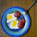 Free Fried Eggs Royalty Free Stock Photography - 34470327