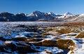 Free Stream Of Water Through The Quagmire Below Reydarbarmur, Laugvartn, Iceland Stock Image - 34478091