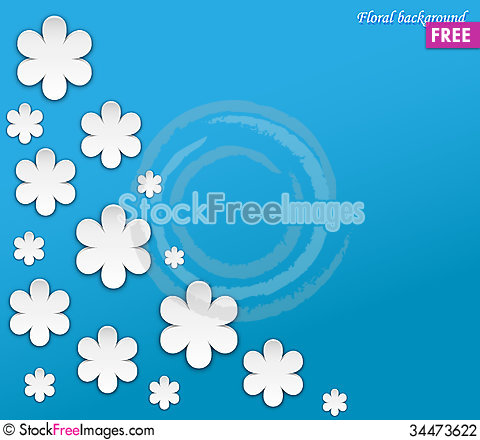 Free Floral Background 2 Stock Photography - 34473622