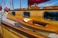 Free Beautifully Restored Classic Sail Boat Royalty Free Stock Photos - 34485118
