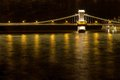 Free Bridge Over River At Night Royalty Free Stock Photography - 34485567
