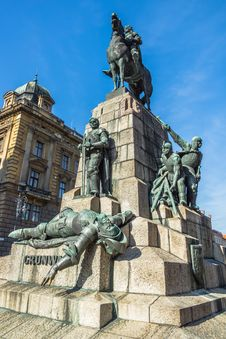 Free Grunwald Monument Stock Photography - 34481842