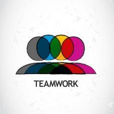 Free Teamwork Corporate Stock Photography - 34483452