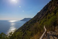 Free Pathway In Cinque Terre Stock Photo - 34486120