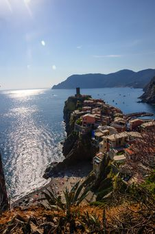 Free Vernazza Royalty Free Stock Images - 34486139