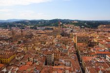 Free View Over Firenze With Towers Royalty Free Stock Photography - 34486147
