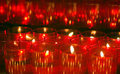 Free Red Candle Lights Royalty Free Stock Image - 3458626