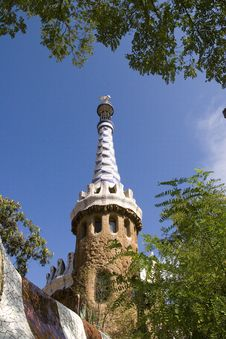 Free Park Guell Stock Photo - 3450230