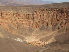Free Ubehebe Crater Royalty Free Stock Photo - 3450405