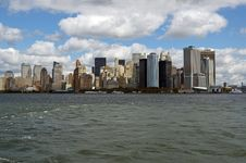 West Side Of Manhattan Stock Photo