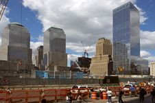 Free Site Of The World Trade Center Royalty Free Stock Photo - 3450445