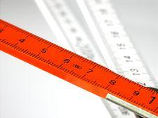 Free Folding Meter Royalty Free Stock Photo - 3450495