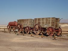 Free 20 Mule Team Wagon Royalty Free Stock Photography - 3450597