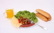 Free Dinner Stock Image - 3450781
