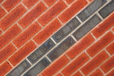 Free Dual Tone Brickwork Royalty Free Stock Image - 3450856