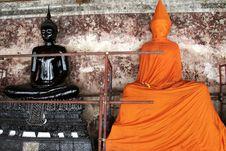 Free Buddha S Statues Royalty Free Stock Image - 3451566