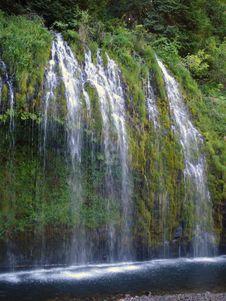Mossbrae Falls Stock Photos