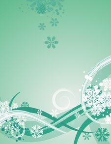 Free Abstract Winter Background Royalty Free Stock Image - 3451756
