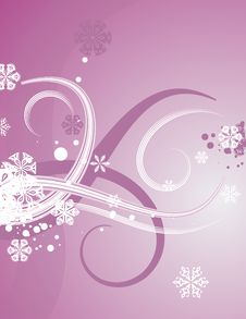 Free Abstract Winter Background Royalty Free Stock Photo - 3451765