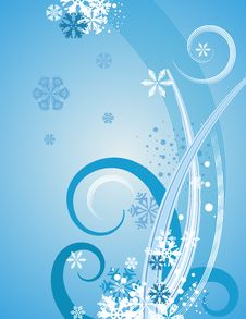 Free Abstract Winter Background Stock Images - 3451834