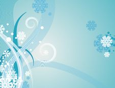Free Abstract Winter Background Royalty Free Stock Image - 3451846