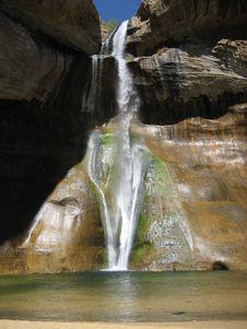 Lower Calf Creek Falls Stock Images
