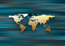 Free World Map Royalty Free Stock Images - 3451889