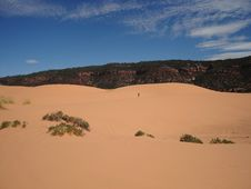 Free Coral Pink Sand Dunes Stock Image - 3453561