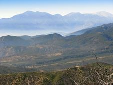 Free View Of Mountains And Clouds Royalty Free Stock Photos - 3454208