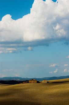 Free Landscape,Tuscany Val D Orcia Royalty Free Stock Photos - 3455288
