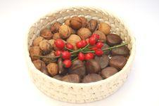 Free Detail Basketful Of Fruits Stock Photography - 3455312