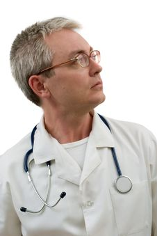 Free Concentrated Doctor Stock Images - 3455444