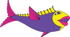 Free Bright Fish Royalty Free Stock Photography - 3455627